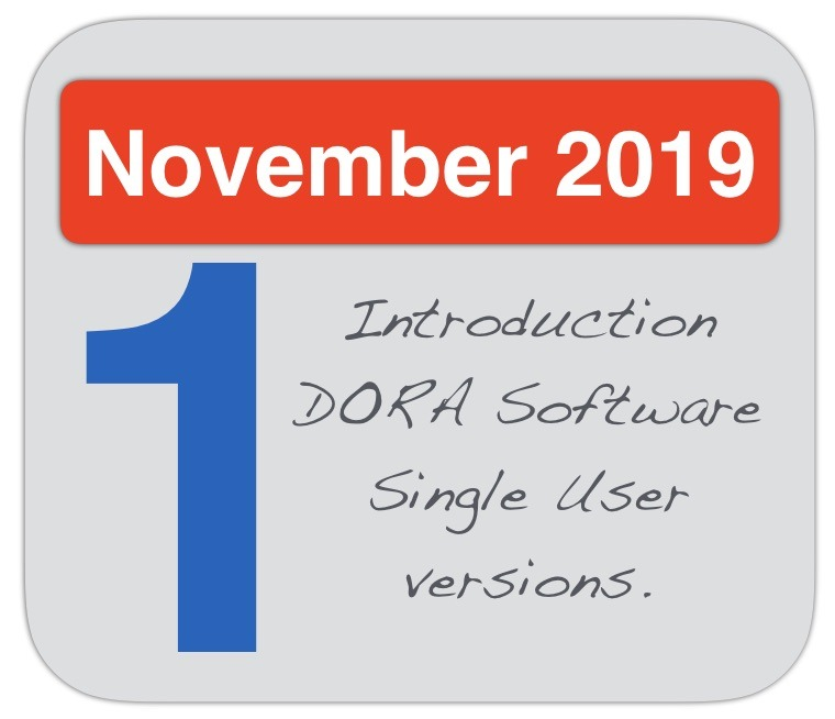 Introduction DORA Software Single User versions